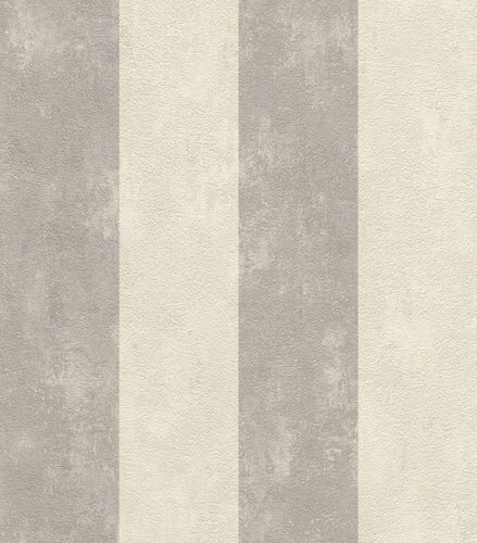 Wallpaper striped texture Rasch Lucera grey 608960 online kaufen