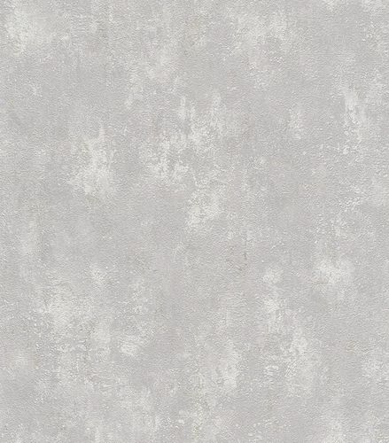 Wallpaper plaster vintage Rasch Lucera grey 609127