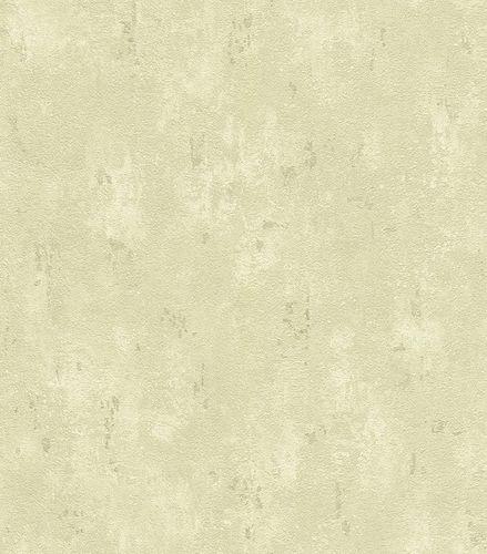 Wallpaper plaster vintage Rasch Lucera green 609158