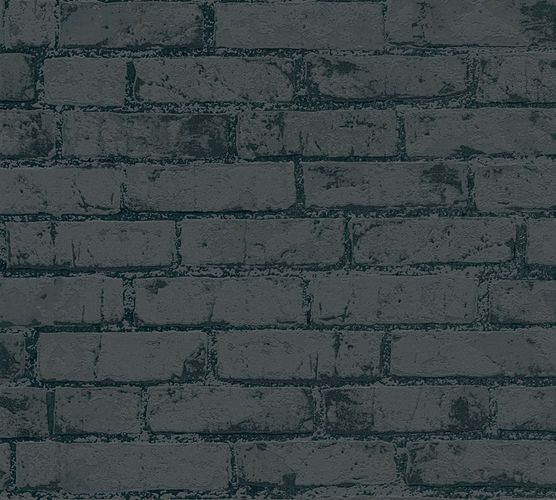 Wallpaper Michalsky High Rise stone bricks black 9078-82