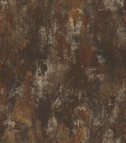 Vliestapete Rasch Deco Style Patina anthrazit Glanz 418224