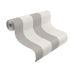 Role picture non-woven wallpaper stripes structure white grey Rasch Prego 700251 2