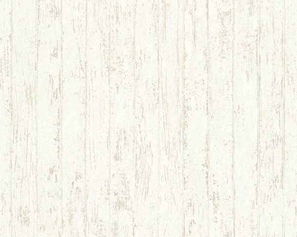 Wallpaper wooden style used white AS Creation 32724-1