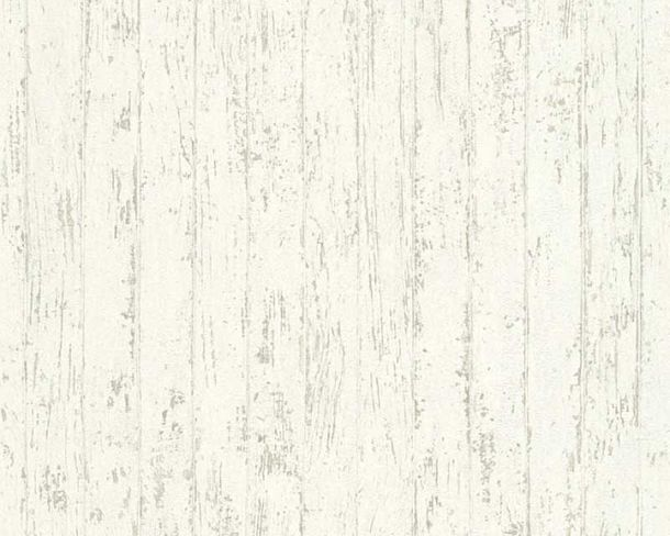 Wallpaper wooden style used white AS Creation 32724-2