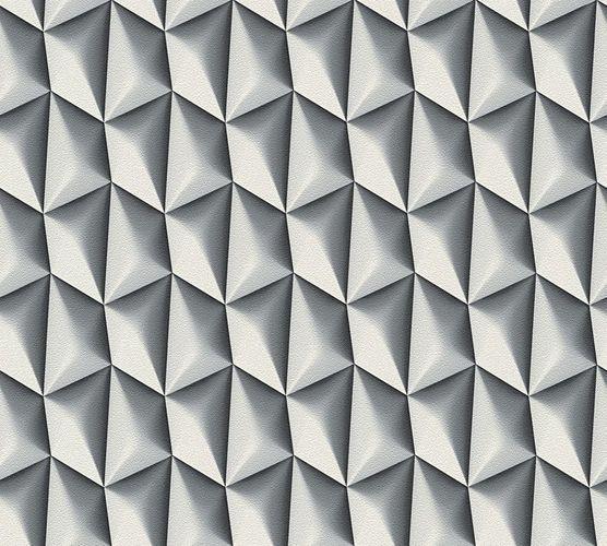 Tapete Mac Stopa Grafik Kachel Retro grau Metallic 32708-2 online kaufen