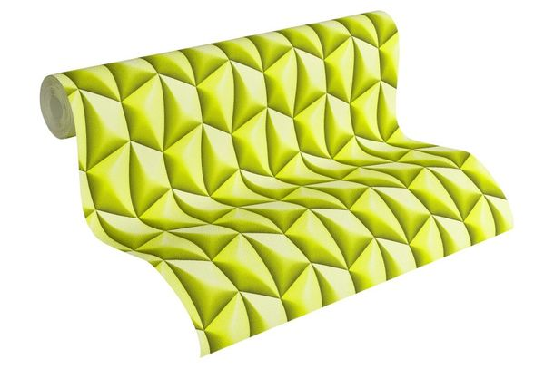 Wallpaper Mac Stopa Design graphic retro green 32708-5 online kaufen