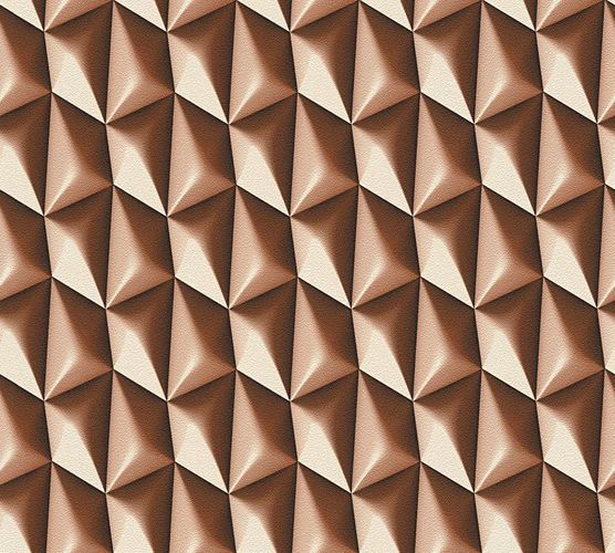 Wallpaper Mac Stopa Design graphic retro brown 32708-6 online kaufen