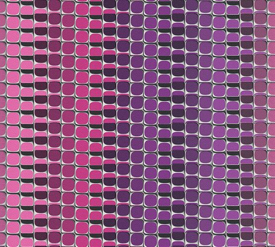 Wallpaper Mac Stopa graphic stripes retro pink 32727-3 online kaufen