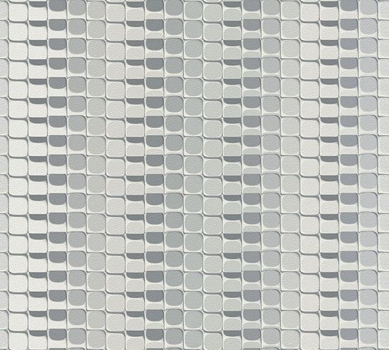 Wallpaper Mac Stopa graphic stripes retro white 32727-4 online kaufen