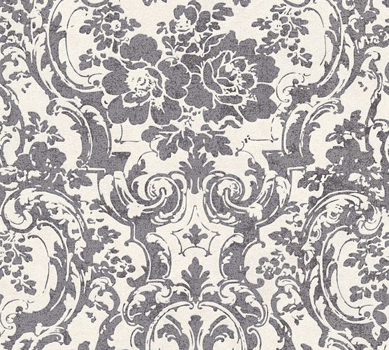 Wallpaper baroque ornament beige grey livingwalls 32831-1