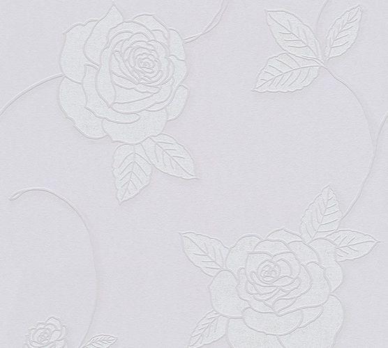 Wallpaper roses flower floral purple livingwalls 32832-2 online kaufen