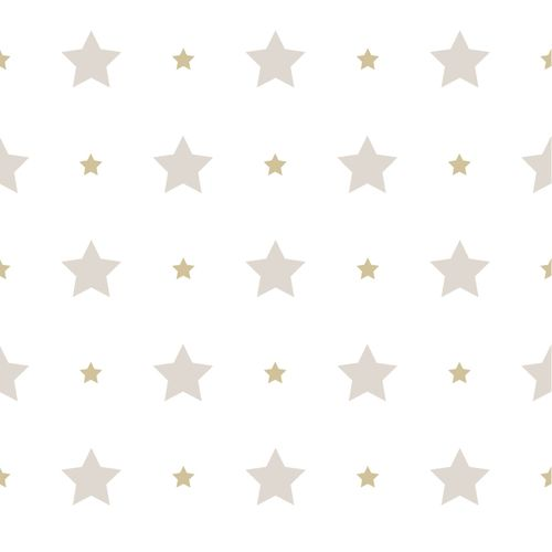 Kids Wallpaper stars star Rasch Textil white beige 330143
