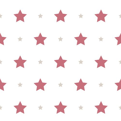 Kids Wallpaper stars star Rasch Textil white red 330167 online kaufen