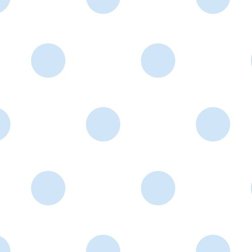 Kids Wallpaper circle Rasch Textil white blue 330174 online kaufen