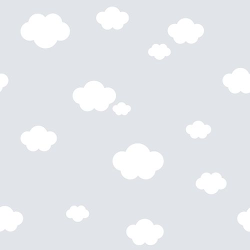 Kids Wallpaper cloud sky World Wide Walls grey 330259 online kaufen