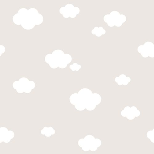 Kids Wallpaper cloud sky Rasch Textil beige 330266 online kaufen