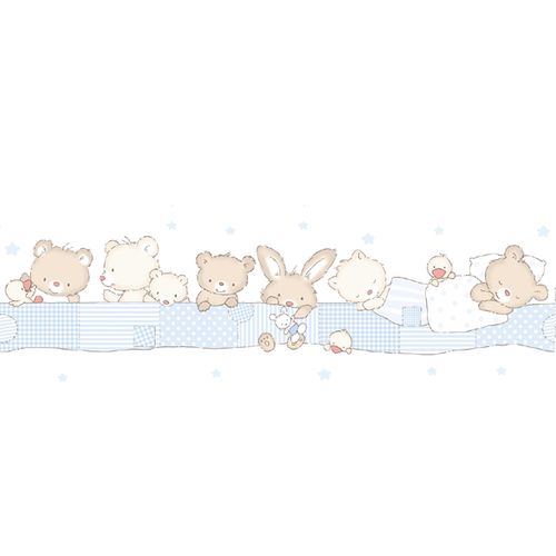Wallpaper Border animal World Wide Walls white blue 330372 online kaufen