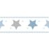 Wallpaper Border star World Wide Walls white blue 330495 001