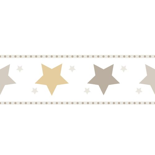 Wallpaper Border star World Wide Walls beige gold 330518 online kaufen