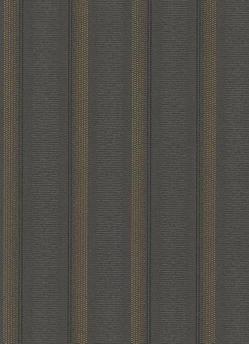 Vliestapete Streifen Punkte Erismann anthrazit 6805-15 online kaufen