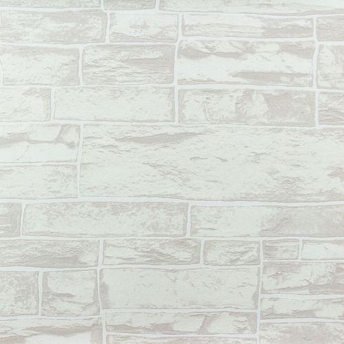 Vliestapete mauer Steine hellgrau weiß Erismann 6712-02 online kaufen