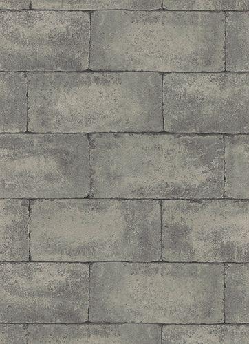 Papiertapete Steinwand Erismann grau hellgrau 7320-15 online kaufen