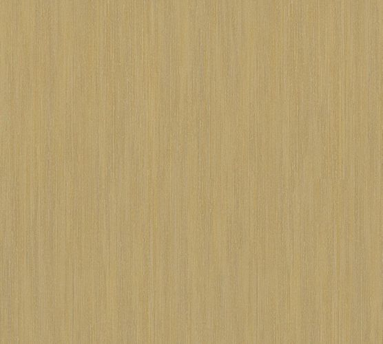 Non-woven wallpaper striped plain brown gold 32882-9 online kaufen