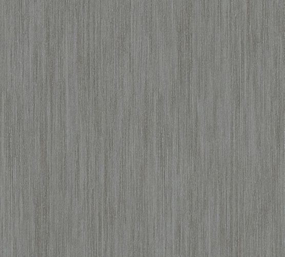 Non-woven wallpaper striped plain grey-brown 32883-4 online kaufen