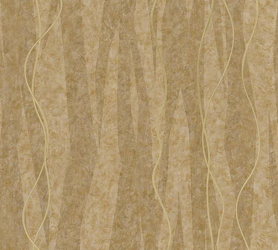 Wallpaper graphic brown gold AS Creation 32999-1 online kaufen