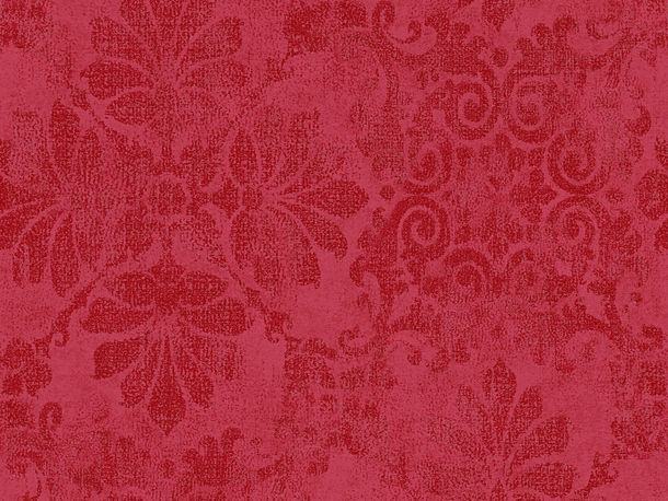 Wallpaper baroque glitter AS Creation red 32987-3