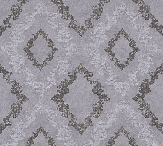 Wallpaper baroque glitter AS Creation grey 32989-4 online kaufen