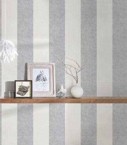 Wallpaper stripes striped AS Creation white grey 32990-2 online kaufen
