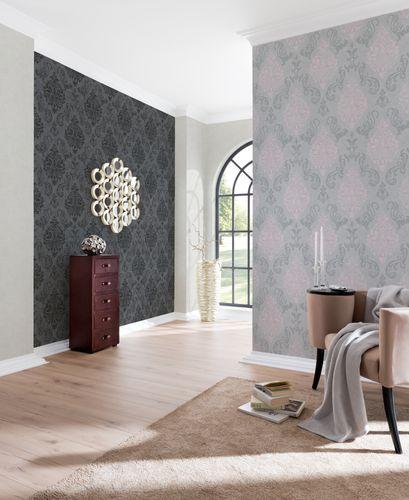 Wallpaper baroque glitter AS Creation grey rose 95372-6 online kaufen