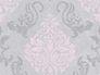 Wallpaper baroque glitter AS Creation grey rose 95372-6 001