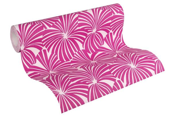 Wallpaper Esprit Home graphic flowers pink 32759-4 online kaufen