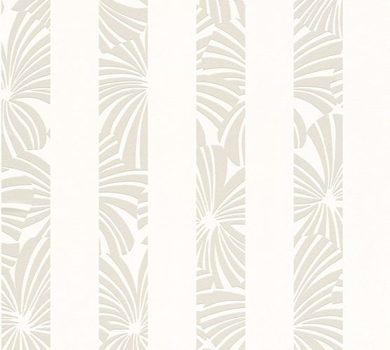 Wallpaper Esprit Home stripes graphic grey 32760-1