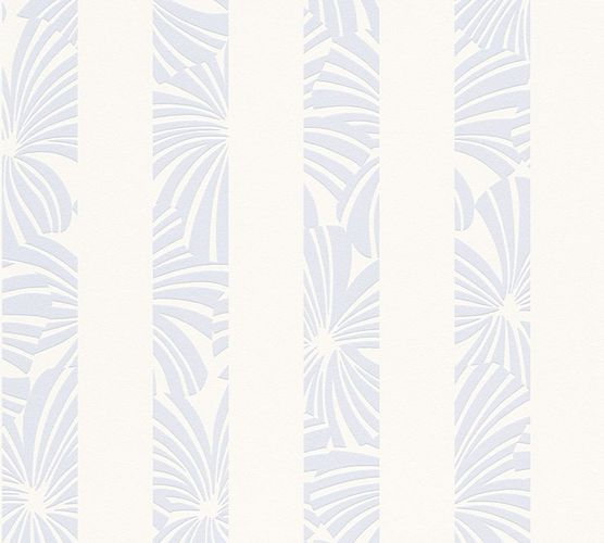 Wallpaper Esprit Home stripes graphic blue grey 32760-2