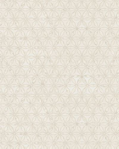 Wallpaper graphic stars gloss Marburg cream beige 58102