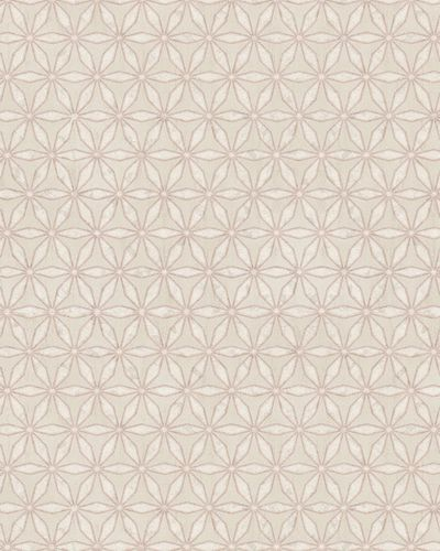 Wallpaper graphic stars Marburg cream silver pink 58103 online kaufen