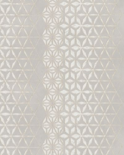 Wallpaper graphic stars gloss Marburg silver gold 58109 online kaufen