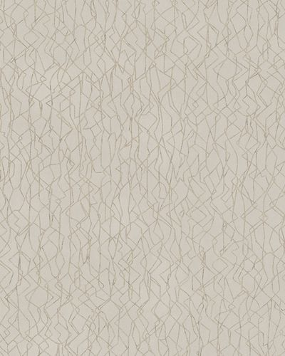 Wallpaper graphic pattern gloss Marburg taupe gold 58112 online kaufen