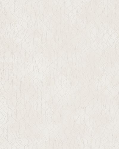 Wallpaper graphic pattern gloss Marburg cream silver 58113 online kaufen