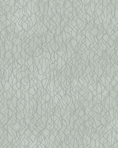 Wallpaper plain gloss Marburg turquoise silver 58114 online kaufen
