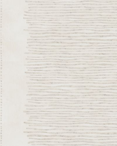 Wallpaper striped gloss Marburg cream silver 58117