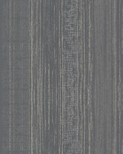 Wallpaper striped gloss Marburg black silver gold 58124 online kaufen
