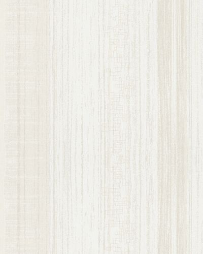 Wallpaper striped gloss Marburg La Vie cream white 58128 online kaufen
