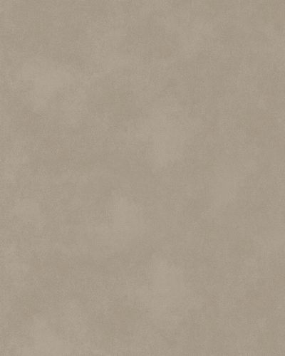 Non-Woven Wallpaper plain plaster texture brown 58151