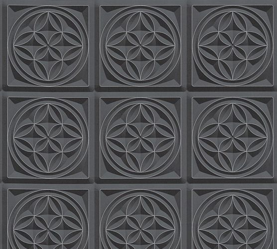 Wallpaper graphic 3D black AS Creation 32980-1 online kaufen