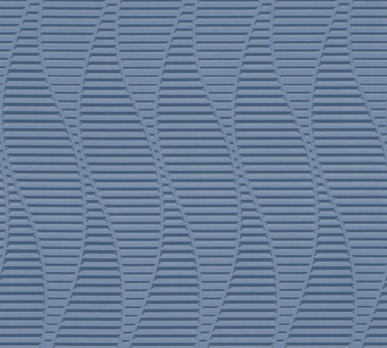 Wallpaper waves graphic blue AS Creation 32982-3 online kaufen