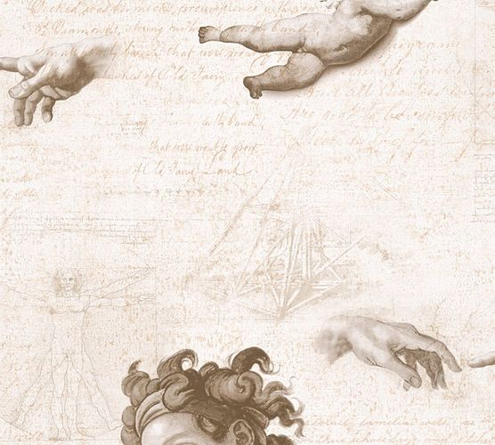 Wallpaper angel Da Vinci beige AS Creation 33534-2 online kaufen